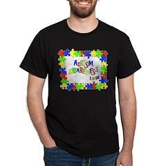 Puzzle Frame Autism Aware T-Shirt