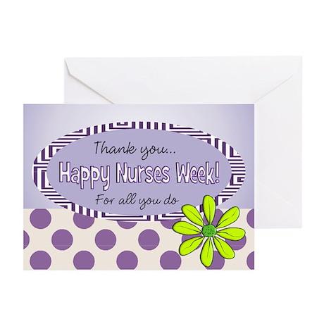 Nurse Week May 6th Greeting Cards (Pk of 20)