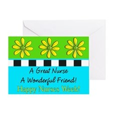 Nurse Week May 6th Greeting Card