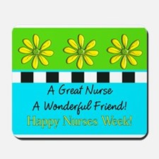 Nurse Week May 6th Mousepad