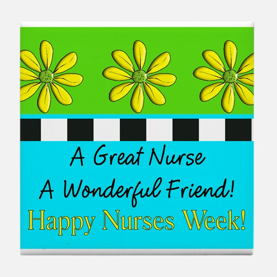 Nurse Week May 6th Tile Coaster