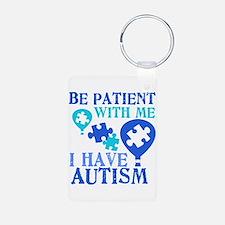 Be Patient Autism Keychains