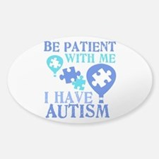 Be Patient Autism Decal