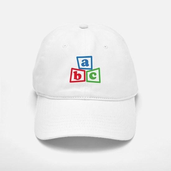 ABC Blocks Baseball Baseball Cap