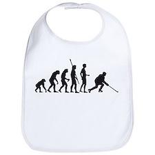 Funny Evolution of ice hockey Bib