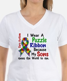 Means World To Me 4 Autism Shirt