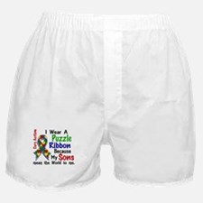 Means World To Me 4 Autism Boxer Shorts