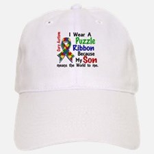 Means World To Me 4 Autism Baseball Baseball Cap