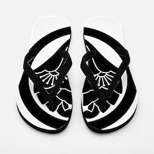 Maru-ni dakihana gyoyo Flip Flops