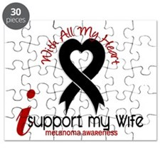 With All My Heart Melanoma Puzzle