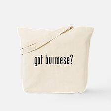 GOT BURMESE Tote Bag