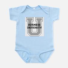Burmese UNIVERSITY Infant Bodysuit