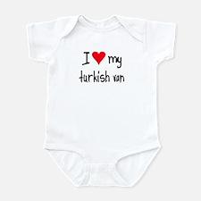 I LOVE MY Turkish Van Infant Bodysuit