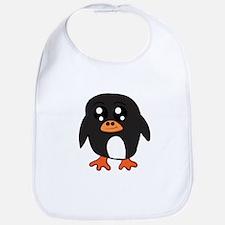 Cute Penguin Baby Bib
