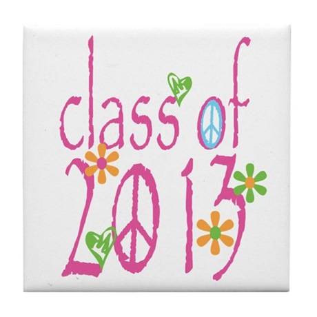 PINK Class of 2013 Tile Coaster