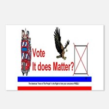 You Vote Counts Postcards (Package of 8)