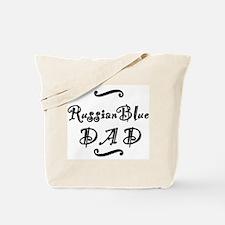 Russian Blue DAD Tote Bag