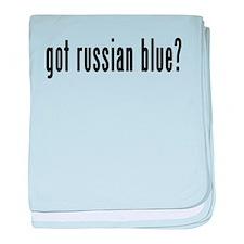 GOT RUSSIAN BLUE baby blanket