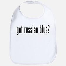 GOT RUSSIAN BLUE Bib