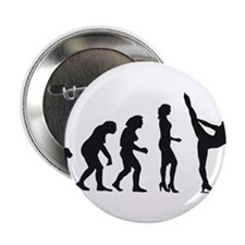 """Cute Ice dancing 2.25"""" Button (10 pack)"""