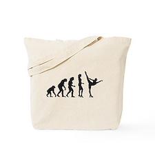 Funny Evolution dance Tote Bag