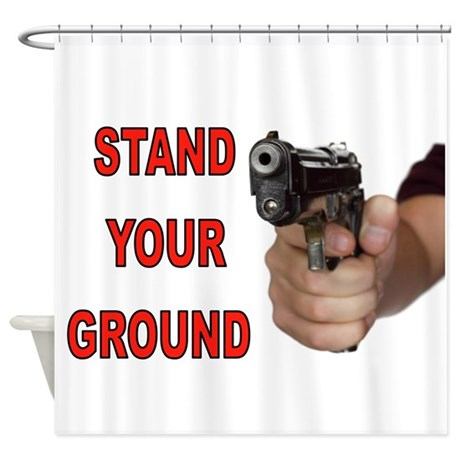 ARMED Shower Curtain