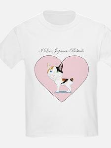 I Love Japanese Bobtails T-Shirt