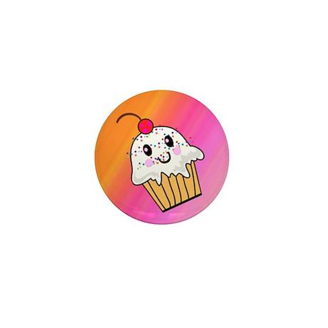 RETRO CUPCAKE Mini Button