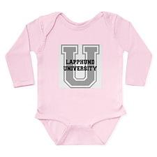 Lapphund UNIVERSITY Long Sleeve Infant Bodysuit