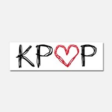 KPOP Love Scribble Car Magnet 10 x 3