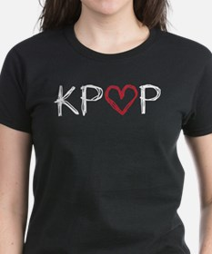 KPOP Love Scribble Tee