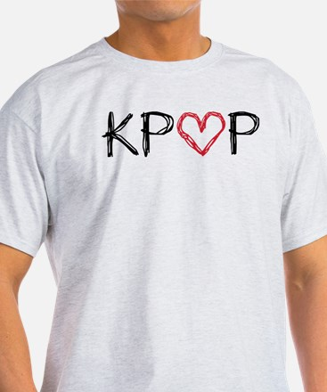 KPOP Love Scribble T-Shirt