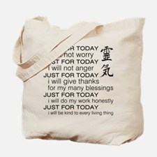 Just For Today Tote Bag