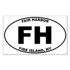 Fair Harbor Fire Island Decal