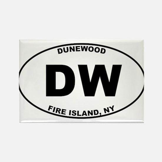 Dunewood Fire Island Rectangle Magnet
