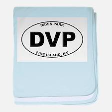 Davis Park Fire Island baby blanket
