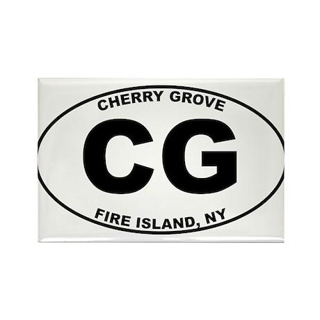 Cherry Grove Fire Island Rectangle Magnet (100 pac