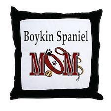 Boykin Spaniel Mom Throw Pillow