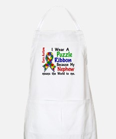 Means World To Me 4 Autism Apron