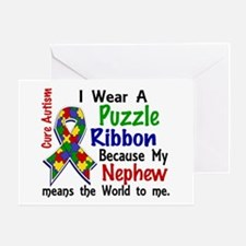 Means World To Me 4 Autism Greeting Card