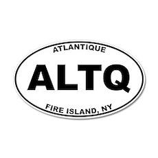 Atlantique Fire Island 22x14 Oval Wall Peel