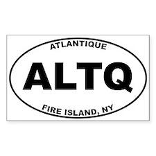 Atlantique Fire Island Decal