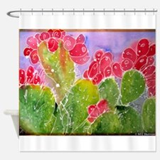 Cactus, southwest, art!! Shower Curtain