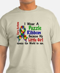 Means World To Me 4 Autism T-Shirt