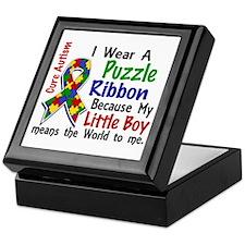 Means World To Me 4 Autism Keepsake Box