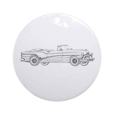 1953 Buick Skylark Ornament (Round)