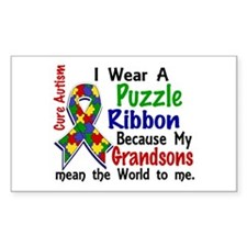 Means World To Me 4 Autism Bumper Stickers