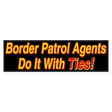 Border Patrol Agents - Bumper Bumper Sticker