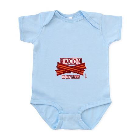 Bacon IN MY BELLY! Infant Bodysuit