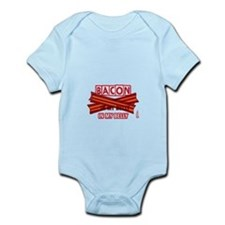 Bacon IN MY BELLY! Infant Bodysuit